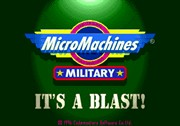 MICRO MACHINES: MILITARY title