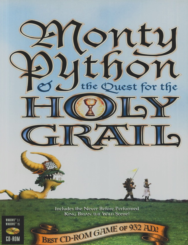 monty python and the quest for the holy grail