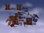 Monty Python and The Quest for The Holy Grail title