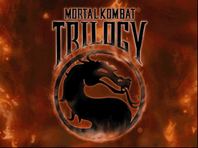 MORTAL KOMBAT TRILOGY game title