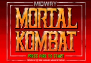 MORTAL KOMBAT game title