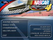 NASCAR RACING 4 title screen