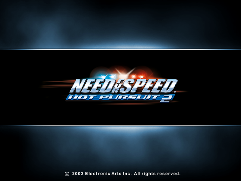 NEED FOR SPEED HOT PURSUIT 2 game title