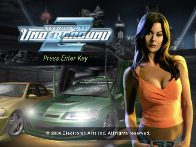 NEED FOR SPEED UNDERGROUND 2 game title