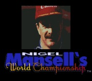 NIGEL MANSELL`S WORLD CHAMPIONSHIP RACING title