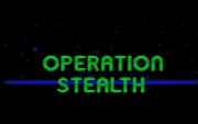 OPERATION STEALTH title