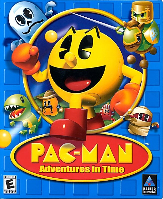 pac man adventures in time