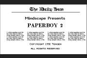 PaperBoy 2 title