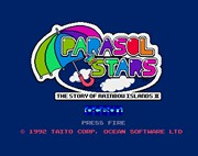 PARASOL STARS: THE STORY OF RAINBOW ISLANDS II title