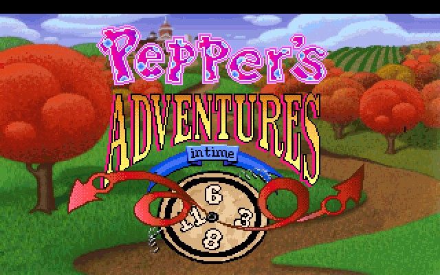 PEPPER'S ADVENTURES IN TIME