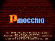 PINOCCHIO title screen