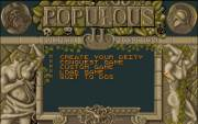 POPULOUS II - TRIALS OF THE OLYMPIAN GODS. title
