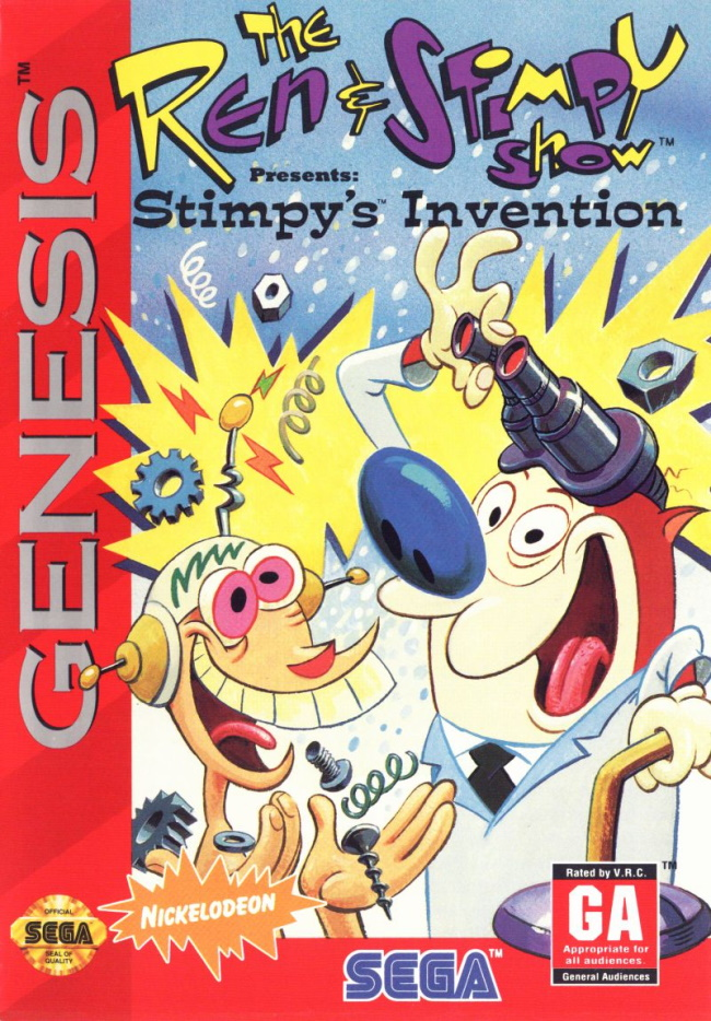 ren and stimpy show stimpys invention