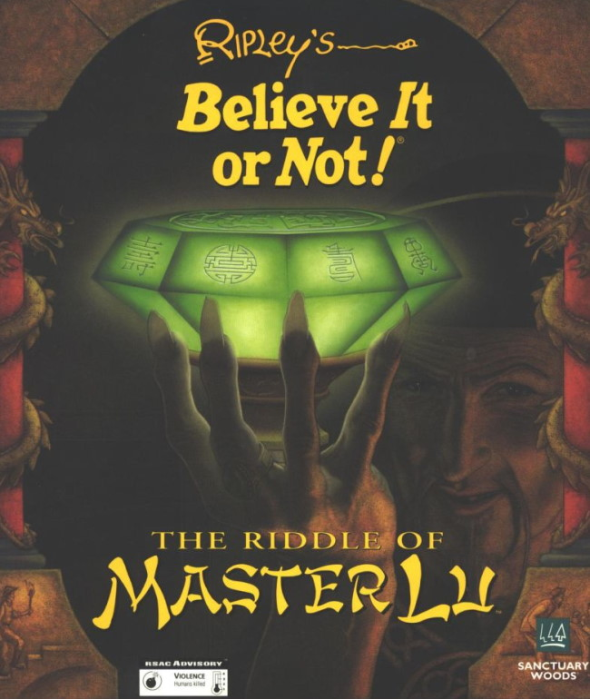 ripleys believe it or not the riddle of master lu