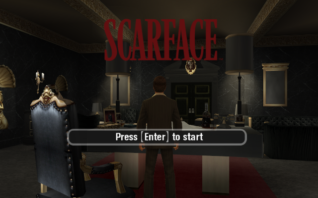 SCARFACE THE WORLD IS YOURS game title