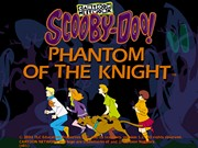 SCOOBY DOO PHANTOM OF THE KNIGHT title screen