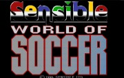 SENSIBLE WORLD OF SOCCER 96 title screen