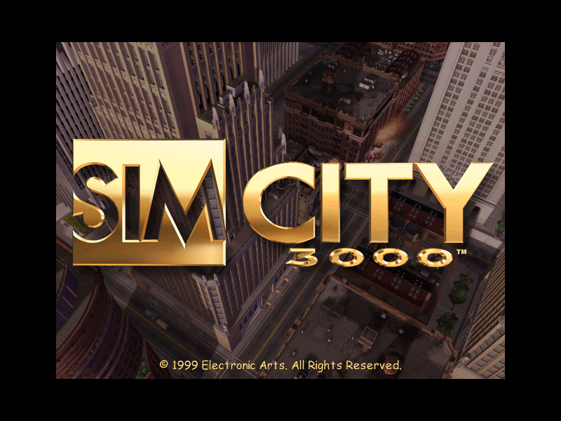 SIMCITY 3000 game title