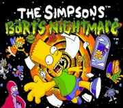SIMPSONS: BART`S NIGHTMARE title