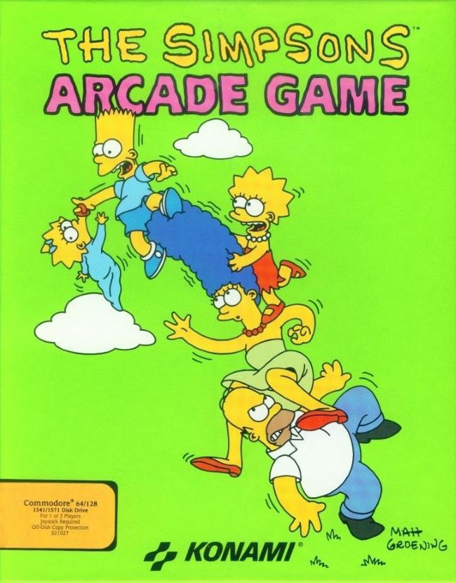 simpsons the arcade game