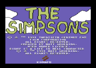 SIMPSONS - THE ARCADE GAME 1