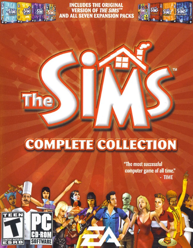 sims the complete collection