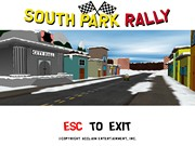 SOUTH PARK RALLY title