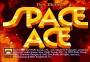 SPACE ACE title screen