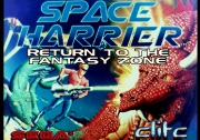 SPACE HARRIER RETURN TO THE FANTASY ZONE title screen