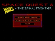 SPACE QUEST 6 THE SPINAL FRONTIER title screen