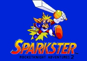 SPARKSTER title screen
