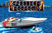 SPEEDBOAT ASSASSIN title screen