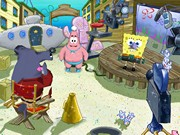 SPONGEBOB SQUAREPANTS LIGHTS CAMERA PANTS title screen