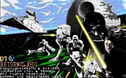 STAR WARS RETURN OF THE JEDI title screen