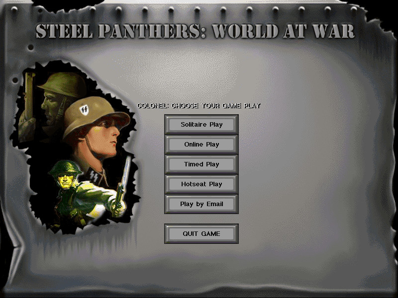 STEEL PANTHERS: WORLD AT WAR