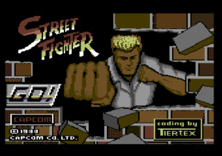 STREET FIGHTER title screen
