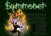 SUMMONER title screen