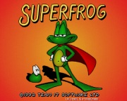 SUPER FROG game title
