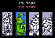 TEENAGE MUTANT NINJA TURTLES THE ARCADE GAME title screen