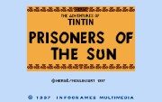 The Adventures of Tintin Prisoners of the Sun title