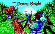 THE BARDS TALE II THE DESTINY KNIGHT title screen