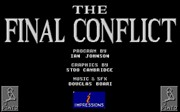 The Final Conflict title