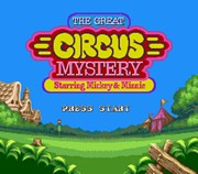 THE GREAT CIRCUS MYSTERY STARRING MICKEY AND MINNIE title