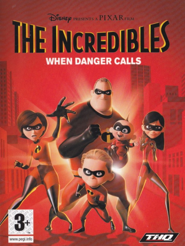 the incredibles when danger calls