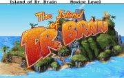 The Island of dr Brain title