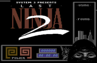 THE LAST NINJA 2: BACK WITH A VENGEANCE. title