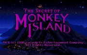 The Secret of Monkey Island title