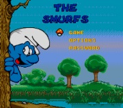 The Smurfs title