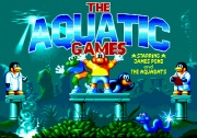 THE SUPER AQUATIC GAMES title screen