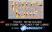 TIMES OF LORE title